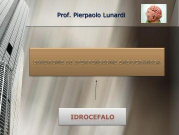 Prof. Pierpaolo Lunardi - Facoltà di Medicina e Chirurgia