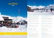 Preise Winter 2012/2013 - Hotel Salome