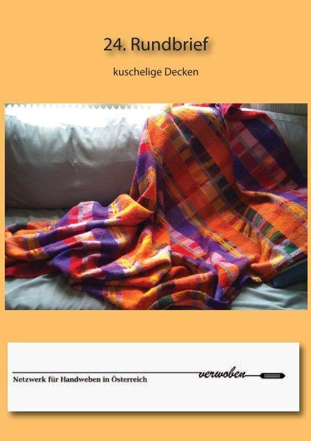 24. Rundbrief - Helgas Webstube