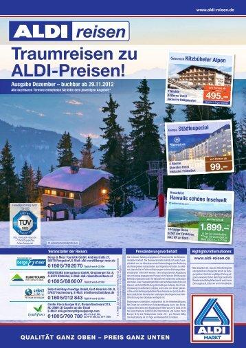 Traumreisen zu ALDI-Preisen! - ALDI Nord