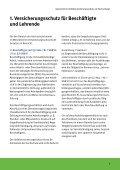 Gesetzlicher Unfallversicherungsschutz an Hochschulen UKH - Seite 5