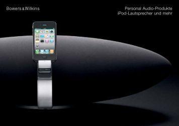 Personal Audio-Produkte iPod-Lautsprecher und mehr