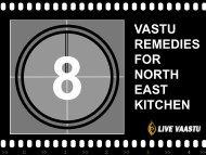 VASTU REMEDIES FOR NORTH EAST KITCHEN