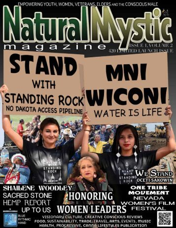 Natural Mystic Magazine ReLaunch Issue 2017