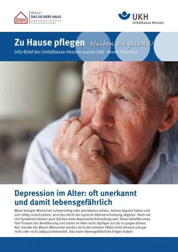 Zu Hause pflegen - Unfallkasse Hessen