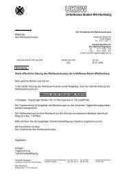 UKBW, 70324 Stuttgart - Unfallkasse Baden-Württemberg
