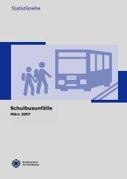 Statistikreihe Statistik-Info zu Schulbusunfällen 2002
