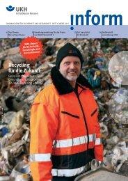 inform 01/2011 - Unfallkasse Hessen