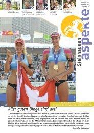 Ausgabe 10/2011 - Aspekte Steinhausen