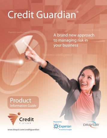 Credit Guardian® - Draycir Partner Portal
