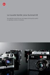 La nouvelle famille Leica Summarit-M