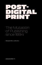Post- Digital Print - Monoskop