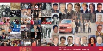 Festschrift 25 Jahre SPD UB - SPD Unterbezirk Landkreis Harburg