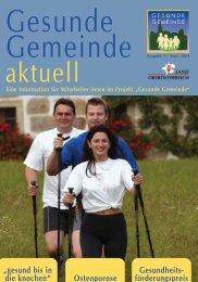 Gesunde Gemeinde_Sept_04.qxd - Netzwerk Gesunde Gemeinde ...