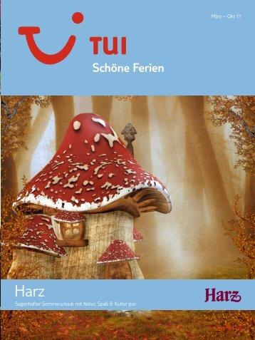 TUI - Schöne Ferien: Harz - Sommer 2011 - Giata