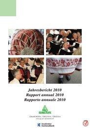 Jahresbericht 2010 - Pro Senectute Graubünden - bei Pro Senectute ...
