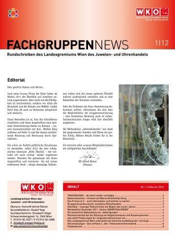 FachgruppEnNews - e-reader.wko.at - Wirtschaftskammer Wien