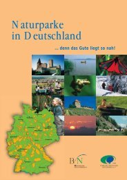 Naturparke in Deutschland - VDN