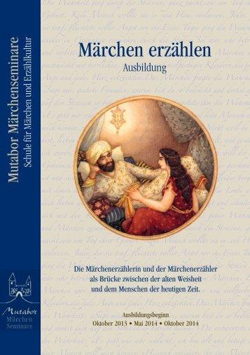 Märchen erzählen - Märchenseminare Mutabor