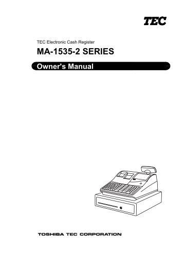 Tec ma-1650 program manual 4s business systems inc.