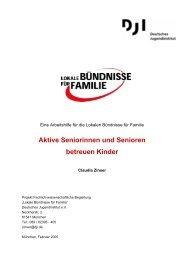 Aktive Seniorinnen und Senioren betreuen Kinder - Deutsches ...