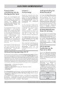 verschiedene mitteilungen - Taufkirchen an der Pram - Seite 6