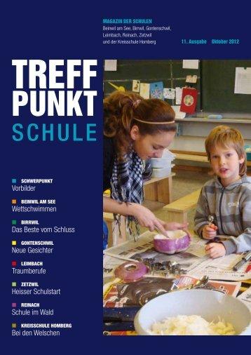 11. Ausgabe Oktober 2012 [PDF, 1.81 MB] - Gemeinde Beinwil am ...