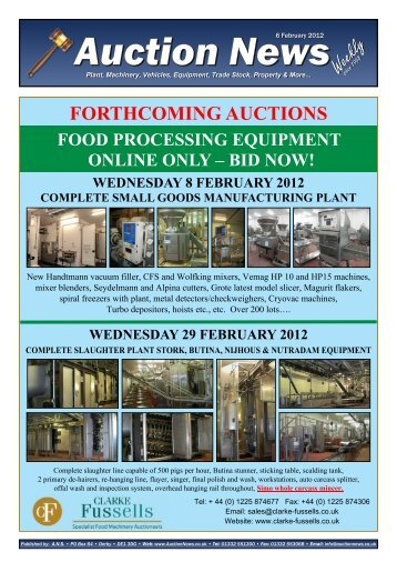 Auction News Feb 06 12 - Auction News Services
