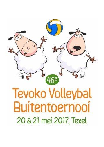 Programmaboekje Tevoko Volleybal Buitentoernooi 2017