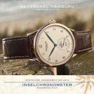 Von Hamburg auf die Insel – Deutschlands nördlichste Uhren