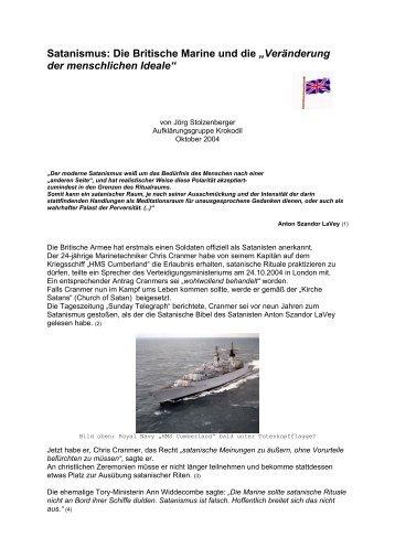 Die Britische Marine und die - Aufklärungsgruppe Krokodil