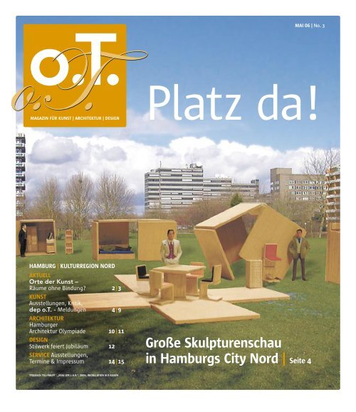 Berufsverband bildender Künstler Hamburg - Das Magazin für Kunst ...