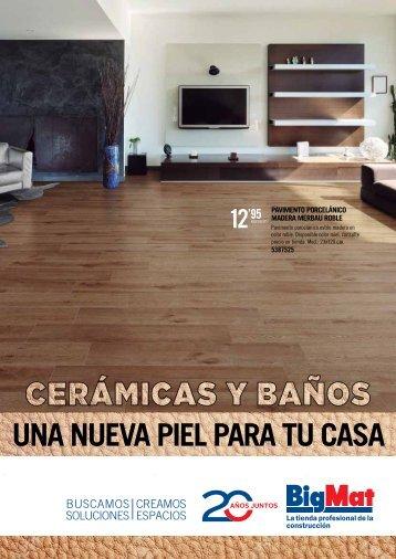 Catalogo BigMat Ceramica válido hasta 31 de Julio 2017