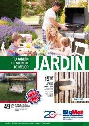 Catalogo BigMat Jardin válido hasta 31 de Julio 2017