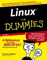 Linux For Dummies, 6th Edition