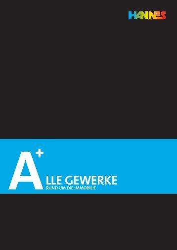 lle Gewerke - HANNES GmbH & Co. KG