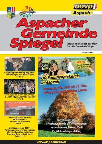 Aspacher - ÖVP Aspach [Willkommen]