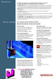 ms-3 laser ultrakompakter barcode-scanner - Unglaube Identech ...
