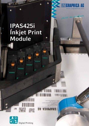 IPAS425i Inkjet Print Module - Unigraphica