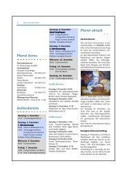 Pfarreiblatt vom 02.12.2012 bis 15.12.2012 - Kirche Kerns