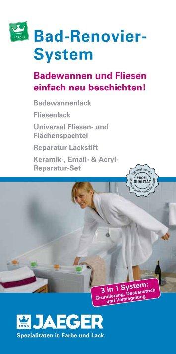Bad-Renovier- System - Genialfarben.de