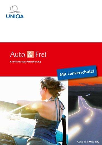 Mit Lenkerschutz! - Uniqa