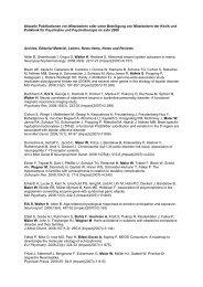 Publikationen 2008 - Klinik und Poliklinik für Psychiatrie und ...