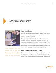 CASE STUDY: BRILLUX TEST - X-Rite