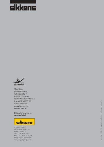 SiKKENS uNd WAGNER - MAUTNER - Alles Farbe