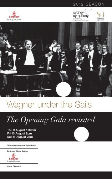 Wagner under the Sails - Sydney Symphony Orchestra