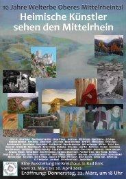 Heimische Künstler sehen den Mittelrhein - Rhein-Lahn-Info