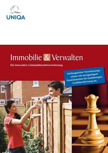 Folder Immobilie & Verwalten - Uniqa