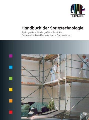 Handbuch der Spritztechnologie - Caparol