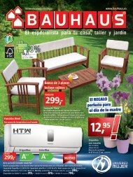Catalogo BAUHAUS Mayo, ofertas válidas hasta 1 de Junio 2017